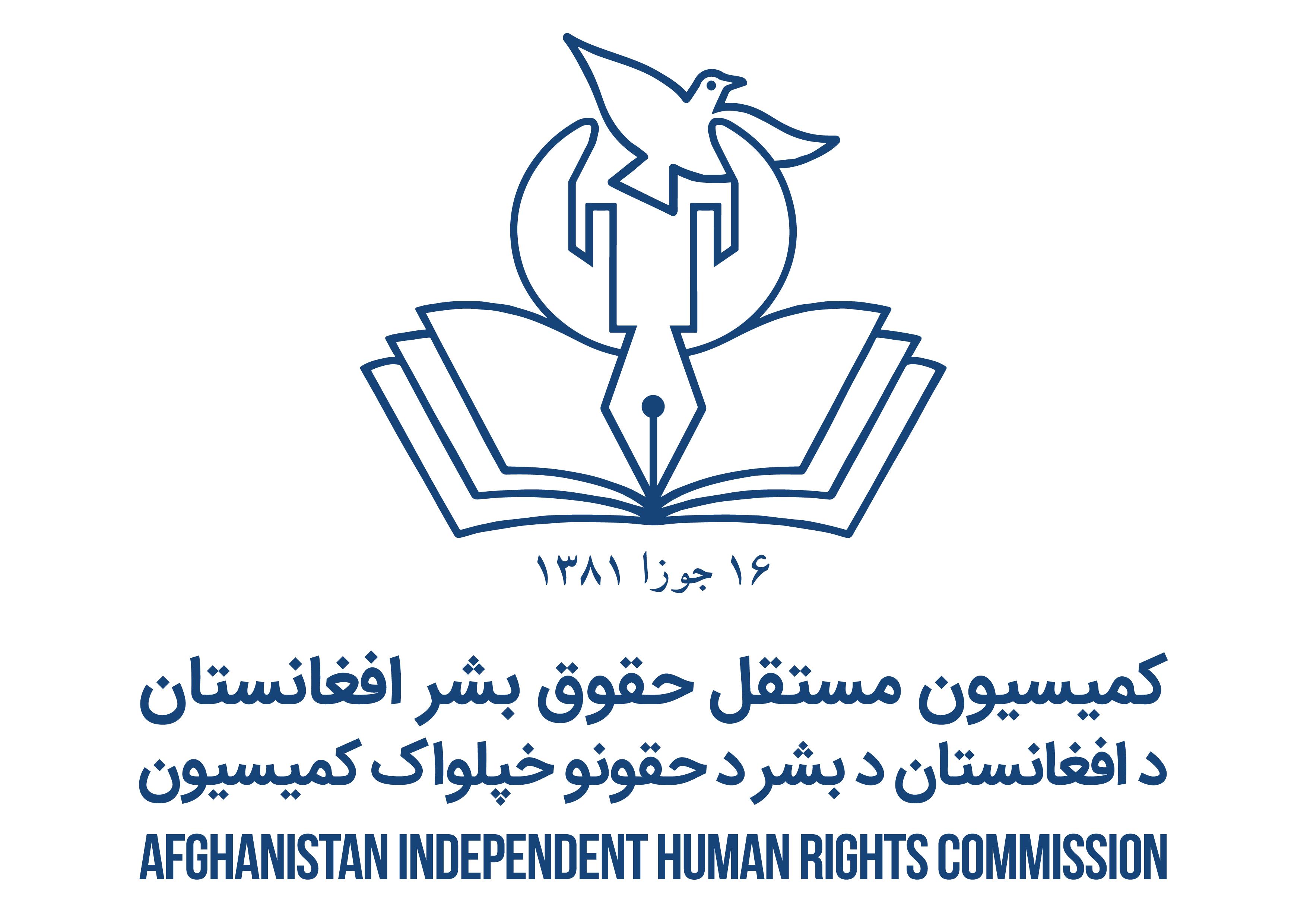 AIHRC Annual Report Final Cover گزارش سالانه کمیسیون مستقل حقوق بشر افغانستان
